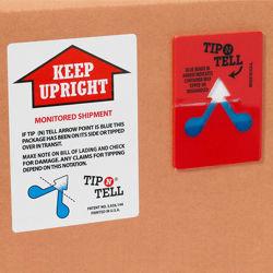 Impact Label Packaging Tilt PVC Label