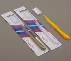 Glass Adult Hard Bristle Toothbrush