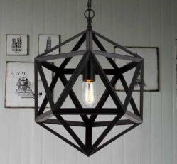 Big Hot-Selling Iron Hanging Pendant Lamp