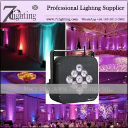 Battery Powered Wireless LED Lighting with DMX, WiFi Control Mode