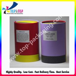 Printing Powder Puff Cylinder Box