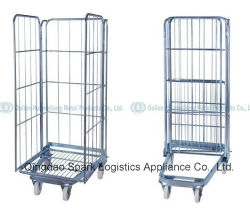 3-Sided Collapsible Roll Cage/Logistics Hand Trolley