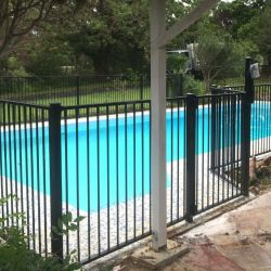 Steel Fence Panels For Garden Fencing, Steel Swimming Pool Fencing