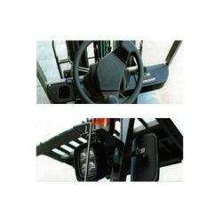 Huili 2 Ton AC Battery Electric Forklift Truck Safe Transport