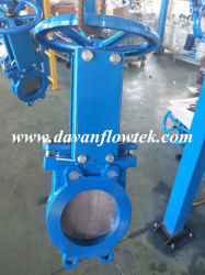 Wafer Lug Ductile Iron Ggg50 Factory Rubber Seat Manual Operated Water China Slurry Sluice Knife Gate Valve