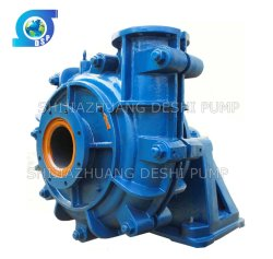 Mineral Coarse Ore Raw Sand Heavy Duty Horizontal Slurry Pump Factory