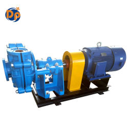 Single Stage Horizontal Slurry Pump, High Chrome Slurry Pump