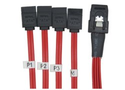Factory Price Mini Sas 36 Pin to 4 SATA 7 Pin Sff-8087 HDD Hard Drive Splitter Cable 12gbps