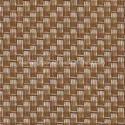 Gold Luxury Waterguard Antislip Woven Pattern PVC Flooring 3.5mm for Hotel Office Wt02