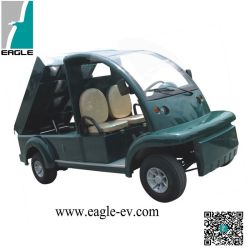 Electric Dump Truck, Eg6063t, Ce Approved, 2 Seat, Hydraulic Dump, Curtis Controller