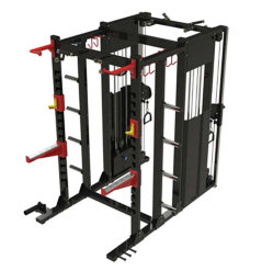 Dual Pec Fly & Power Cage Commercial Fitness Muscle Body Training Machine / Gym Exericse Sports Equipment