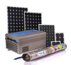 20m 24V DC Solar Water Pump 3cbm Per Hour 384W Lowest Voice