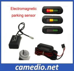 LED Electromagnetic Reverse Parking Sensor with Detecting Distance: 0-0.8m