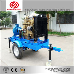 Diesel Water Pump for Irrigation/Fire Fighting with Trailer