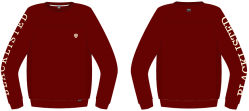 Hot Sale Men's Fashion Black Embroidery Sweatshirt