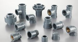 PVC Plastic Plumbing Pipe Fittings NBR5648/ BS 4346 DIN