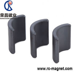 Super Strong Ferrite Arc Antisolated Ceramic Magnet