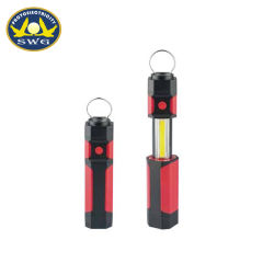4AAA Battery Hanging Ring LED Torch Telescoping COB Worklight