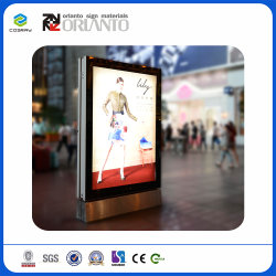 Square Waterproof Aluminum Advertising Indoor and Outdoor Ultra Slim Light Box