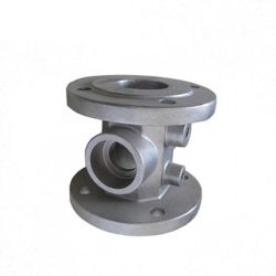 China Good Stainless Steel Machined Ceramic Pump Parts