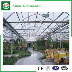 PC Sheet/Glass/Plastic Film Greenhouse Building Material for Agriculture/Commercial