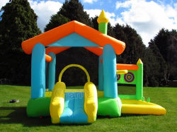 Indoor Inflatable Castle/Home Use Inflatable Air Castle Bounce House Cr3001