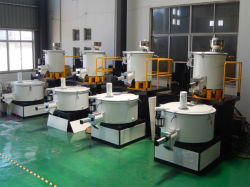 Plastic Auxiliary Machine Hot and Cooling PVC WPC Mixer Machine