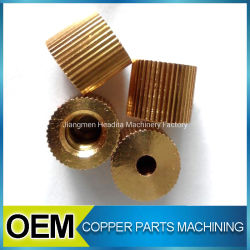 Customized CNC Turning Brass Gear Machining