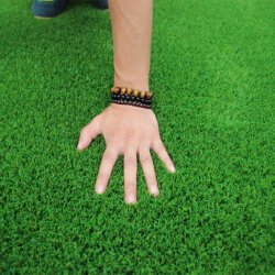 Customized Logo Turf Grass Decoration for Outdoor and Indoor