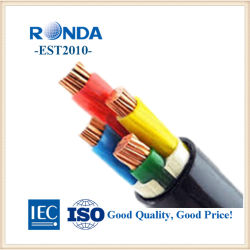 copper XLPE insulation PVC sheath electric electrical power wire cable