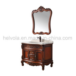 Sanitary Ware Bathroom Basin Accessories Cabinet Solid Wood PVC MDF with Mirror Stainless Steel Bathroom Furniture