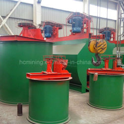1-2 T/H Capacity Double Impeller Leaching Tank Cyanide Plant