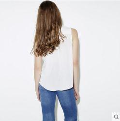 Fashion Clothes Casual Chiffon Sleeveless Women Blouse Leisurely Shirt