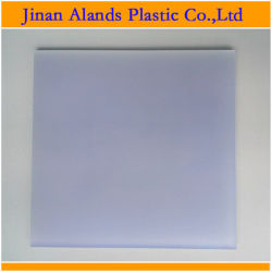 """1/4"""" Frosted Plexiglass Frosted Acrylic Sheet"""
