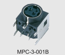 Mini DIN Power Connector (MPC-3-001B)