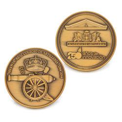 Custom Zinc Die Casting Souvenir Metal Coin Factory