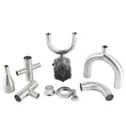 Ss 304 Stainless Steel 3A Tee Sanitary Welded Pipe Fitting  sc 1 st  Made-in-China.com & China Stainless Steel Pipe Fitting Stainless Steel Pipe Fitting ...
