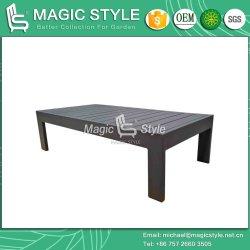 Outdoor Aluminum Sofa Set with Cushion Garden Single Sofa Modern Leisure Sofa Set Aluminum Tea Table Patio Furniture