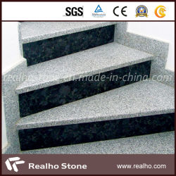 Superieur Natural Exterior Outdoor Grey/White/Black Stone Step Risers Granite Stairs  With Bullnose