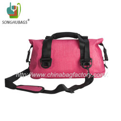 Sport Camping Pink Waterproof Dry Duffle Backpack Bag Ty-0543