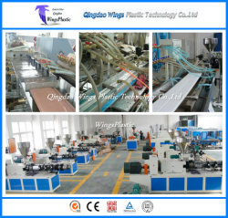 High Degree Automation PVC Profile Extrusion Machine for Windows Doors Frames