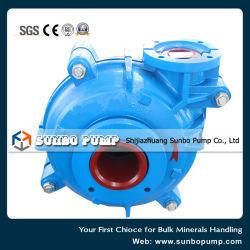 2016 Metallurgy Waste Water Treatment Industrial Centrifugal Slurry Pump