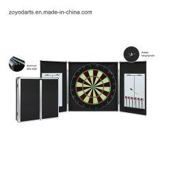 Professional Bristle Dartboard In Al Alloy Cabinet Dartboard