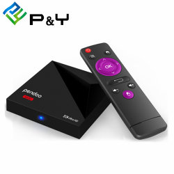 Pendoo Mini Rk3328 Ott TV Box with Good Price Android 7.1 TV Box