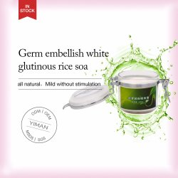 OEM ODM Wholesale Germ Embellish White Glutinous Rice Soap for Oil Control Skin Whitening Acne Removal