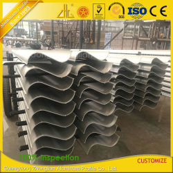 China Factory Extrude Large Industrial Aluminium Section for Architecture