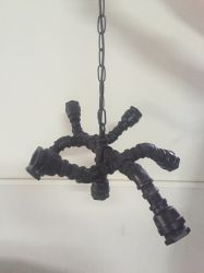 Water Pipe Retro Loft Antique Finish Industrial Pendant Lamp (KABS5103)