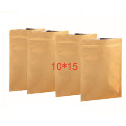 High Quality Recycle Blank Flat Paper Bag