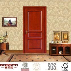 Western Style Plywood Interior Wooden Door Design (GSP6-008)