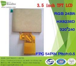 3.5 Inch 320X240 RGB 54pin TFT Touch Screen LCD Display
